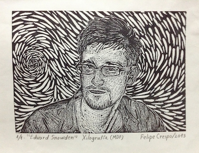 Image Credit: http://commons.wikimedia.org/wiki/File:Edward_Snowden_%22Xilograf%C3%ADa%22.jpg
