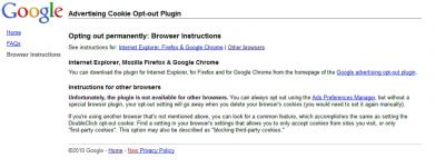 EFF Google Opt out